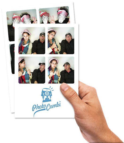 Photocombi : La première cabine photo vintage sur roues !