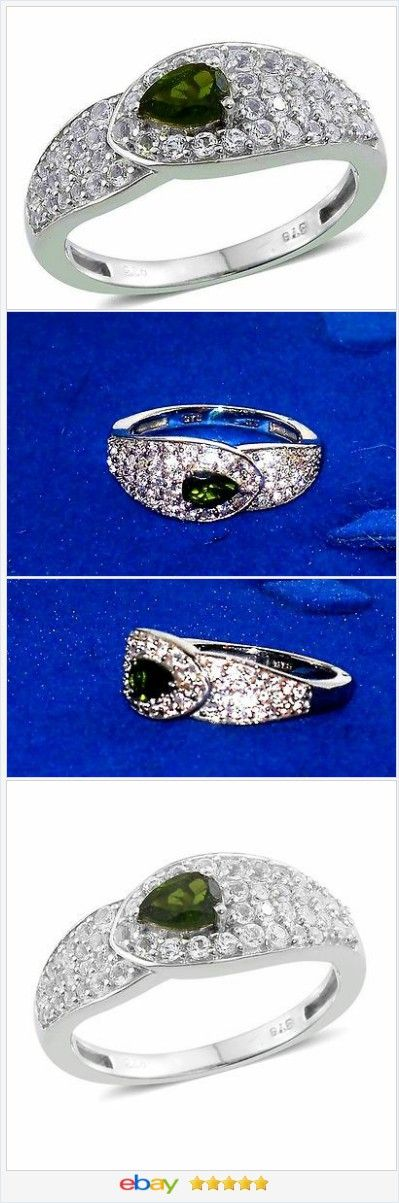 Russian Chrome Diopside ring 1.43 ct size 8 Sterling USA SELLER  50% OFF #EBAY  http://stores.ebay.com/JEWELRY-AND-GIFTS-BY-ALICE-AND-ANN