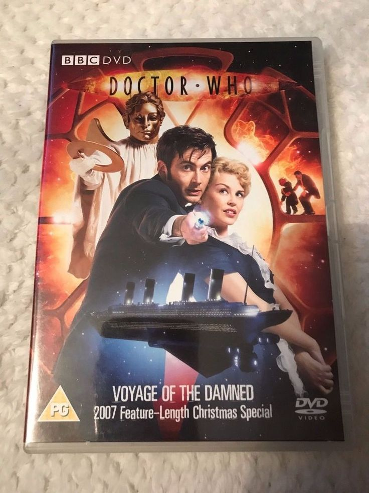 Only £2.10 - Cheap DVDs and free postage!! Doctor Who - The New Series: The Voyage of the Damned DVD (2008) David Tennant