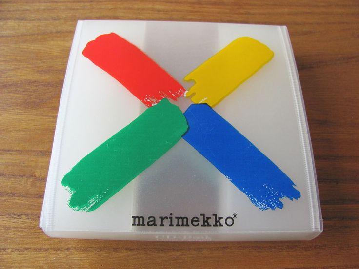 Marimekko Vintage Sumo Plastic CD-Folder Retro Ishimoto Fujiwo