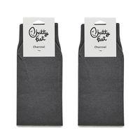 Charcoal ChattyFeet Sock Set