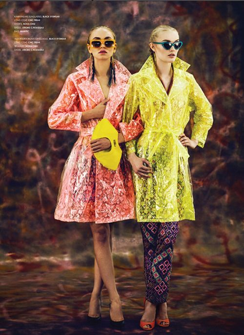 Yellow version of Manitic's Orchid Mini in ​ @TIRADE Magazine editorial