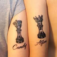 Resultado de imagen para rey y reina en ajedrez con corona
