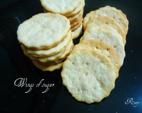Ritz crackers fatti in casa, ricetta Ritz crackers homemade recipe