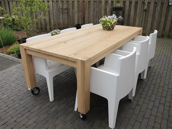 30 best tuinmeubelen images on pinterest outdoor furniture outdoor living and outdoor spaces - Plastic tuintafel ...