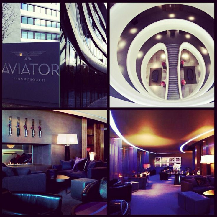 The luxury Aviator Hotel Hampshire - we're off here for a wedding this weekend, cannot wait!