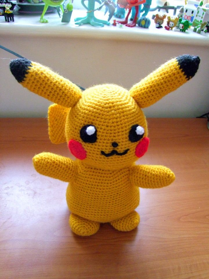 Pikachu – Amigurumi Patterns | 960x720