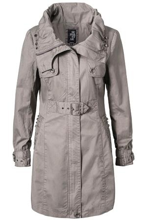 Rain Coat Frill Trench