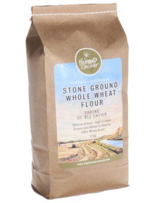 Fresh Albertan 100% Whole Grain Organic Flour High In Fibre And Iron
