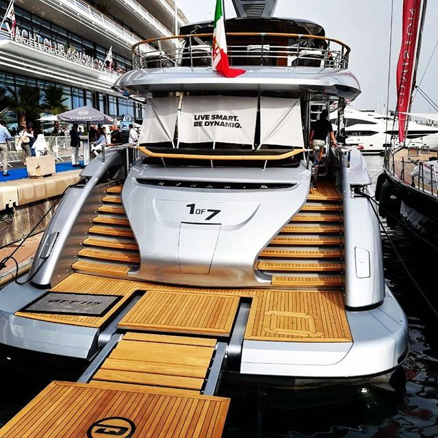 Built by @bedynamiq in collaboration with Studio FA Posche @porschedesignofficial, the GTT was launched just before the @monacoyachtshow_official ⚓️ The production is limited to only 7 units ➡️ 1 of 7 • • • • • #yachtlife #megayacht #superyacht #megayacht #helicopter #amazing #beautiful #billionaire #wealth #luxury #yacht #summer #sea #sun #design #thegoodlife #travel #bestoftheday #style #picoftheday #followme #instagood #fashionph #fashionmen #bestsnaps #millionairemindset #millionair...
