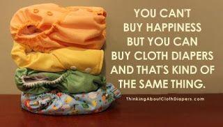 Motive distractive pentru a folosi scutece textile in locul celor de unica folosinta.