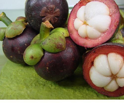 Экзотические фрукты - мангостин