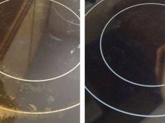 Βάζει ενά μαγικό συστατικό στην κεραμική εστία της κουζίνας και την κάνει να φαίνεται σαν καινούργια!
