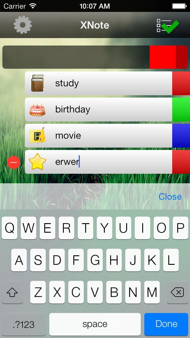 Xinkun Mo | Productivity | iPhone | XNote One $0.00 | ver.1.0| $0.99 | Write things about to do.Its simple and clean.
