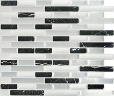 Peel  Impress Midnight Marble Dream Adhesive Vinyl Wall Tiles 4 Pack 11 x 925 * Continue to the product at the image link.