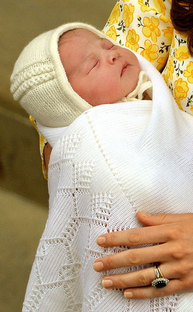 Meet the Princess from Princess Charlotte's Baby Album This face! Kate and Will's new daughter is fourth in line to the throne and already queen of Cutie Town.