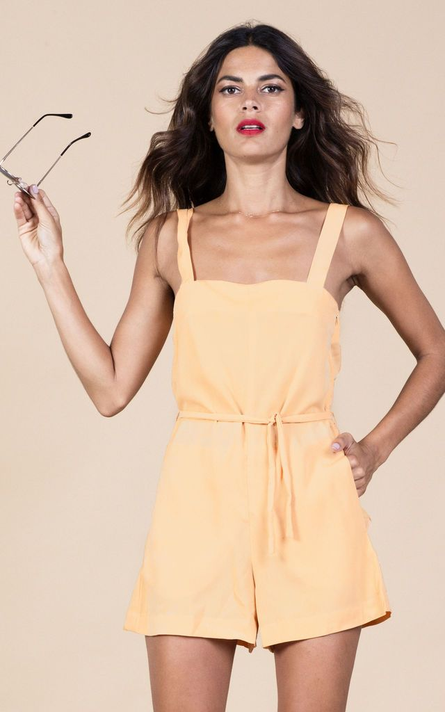 Click to view Souza Playsuit in Buttercup