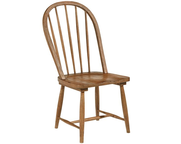 Magnolia Home - Primitive Dining Room With Windsor Chairs