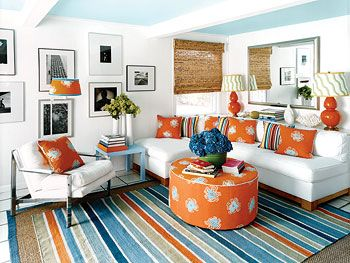 17 best ideas about blue orange bedrooms on pinterest navy orange bedroom shared rooms and - The year of the wonderful bedroom ...