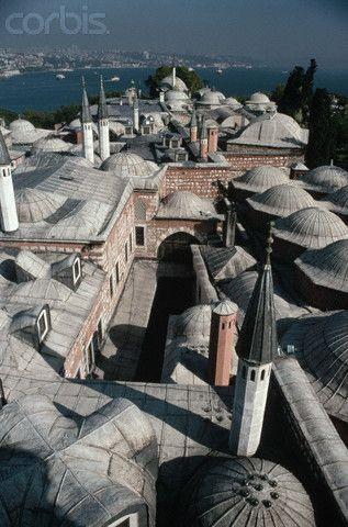Topkapi Palace Rooftops