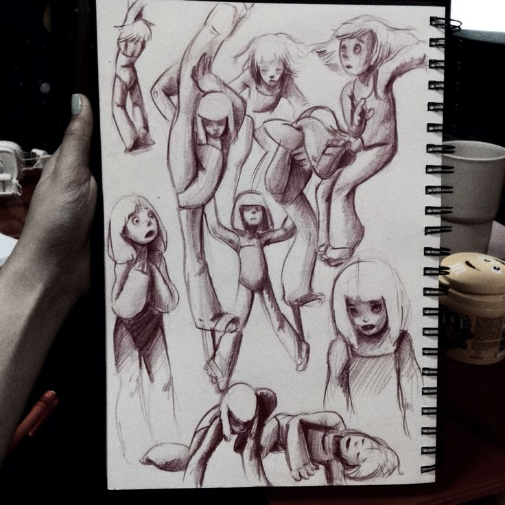 #Lifedraw stylized. #Sia elastic heart and chandelier music video. #Characterdesign #actionposes