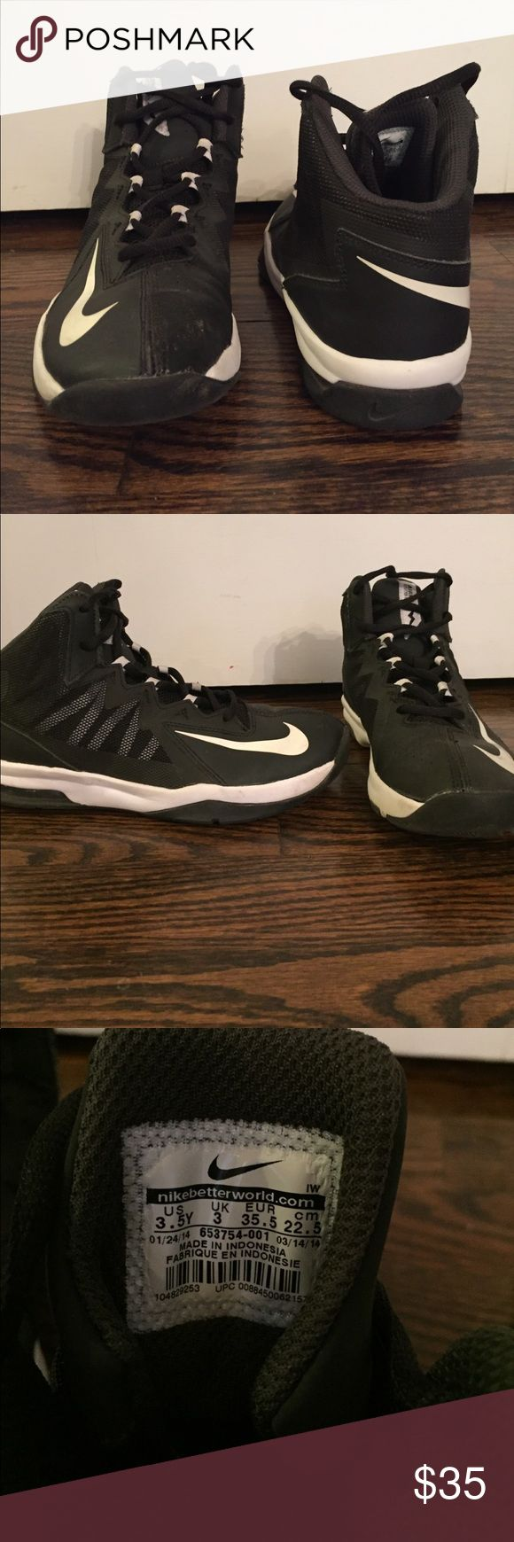 Nike Air Max Stutter Step 2 🏀 Nike Air Max Stutter Step 2 Boys size : 3.5 Worn a few times.  Great shows to make that little man look sharp. Great for basketball! 🏀 Nike Shoes Sneakers