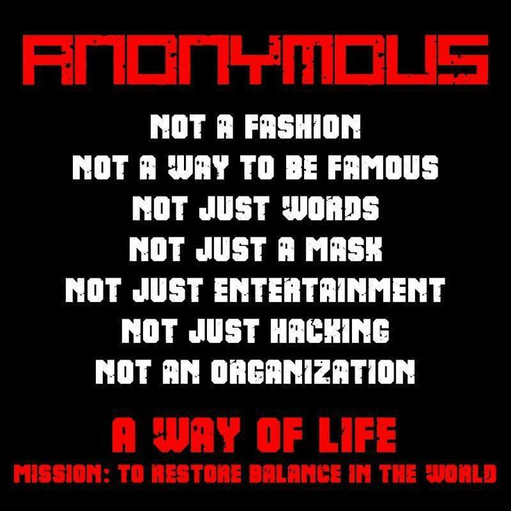 Anonymous Quotes About Life: 1000+ Ideas About Anonymous On Pinterest
