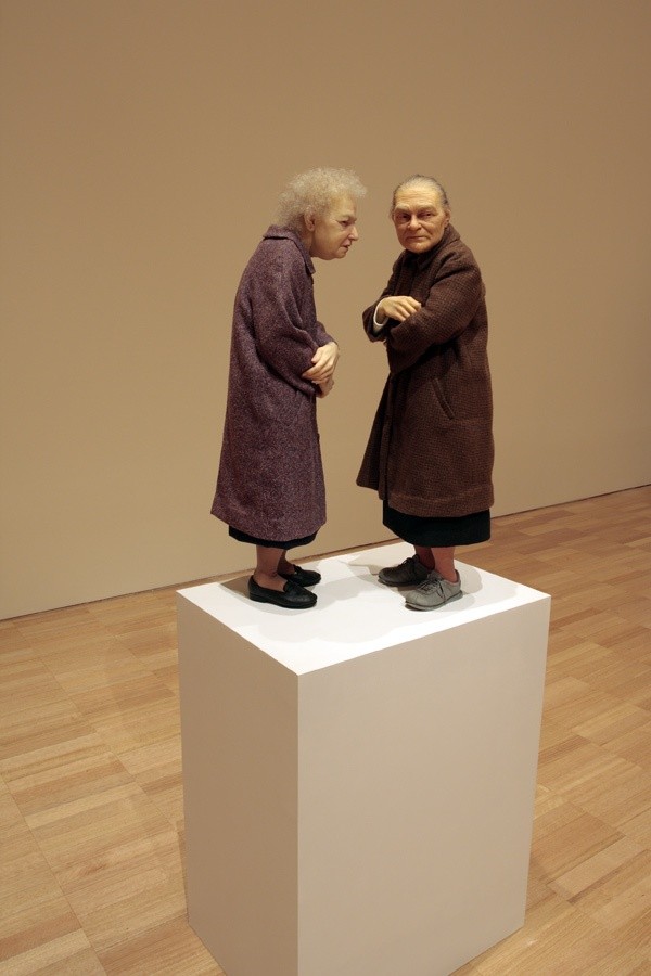 Two Women. by Ron Mueck