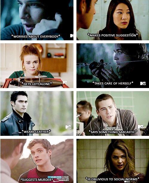 Teen Wolf summary.