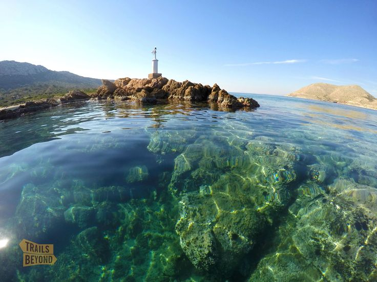 Crystal Waters in Cape Sounion, Greece