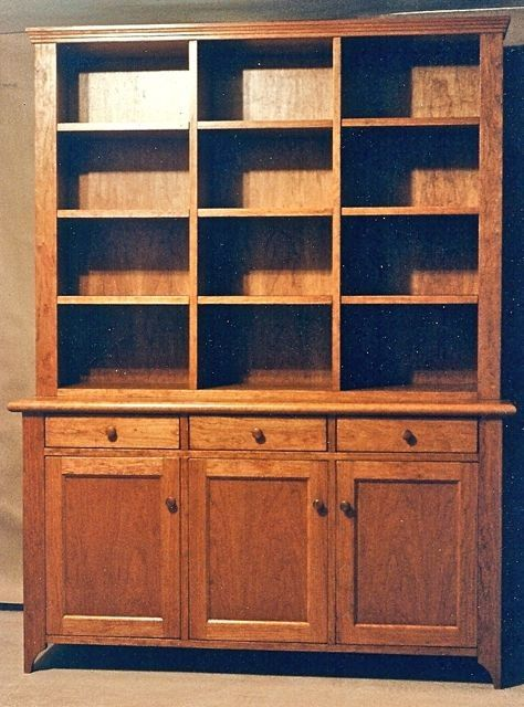 Custom Cherry Hutch By Xenasdad On Etsy, $4900.00 I Love Real Wood Furniture!  And