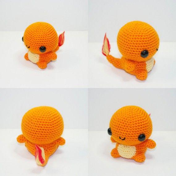 Les peluches Pokémon de Johnny Navarro - Salamèche