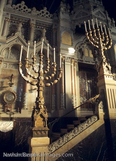 The Great Synagogue in Szeged, Hungary.