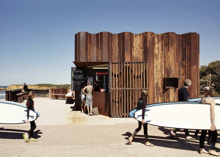 Third Wave Kiosk by Tony Hobba Architects   architecture   Dezeen