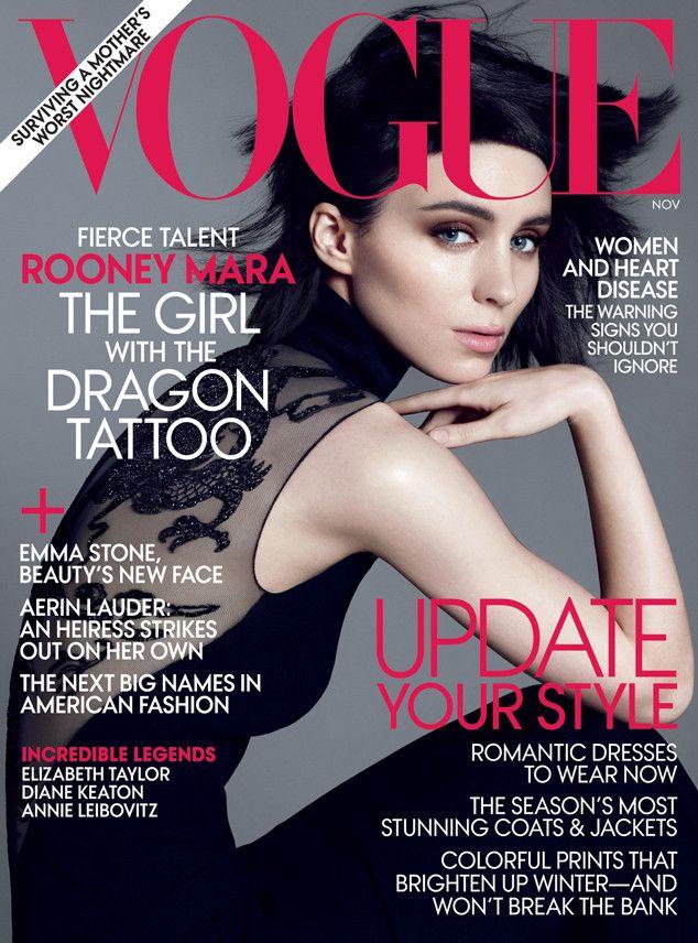 Rooney Mara- Vogue