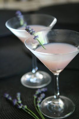 Lavender martini love.. great wedding reception cocktail