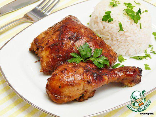 Курица в китайском соево-апельсиновом маринаде - кулинарный рецепт