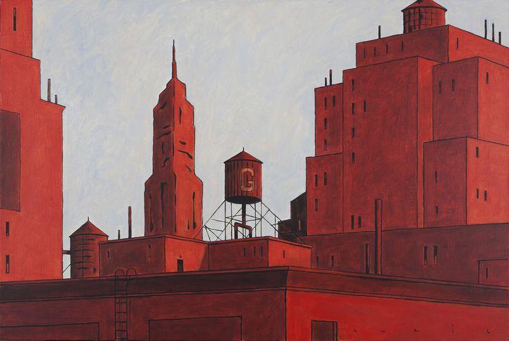 François Avril  #illustration #graphisme #design #red