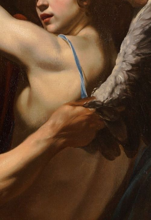 Sadness and classic art, Daedalus and Icarus, Detail. by Orazio...