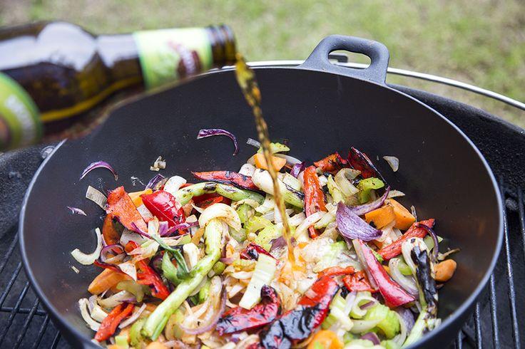 Beer for beefstew / Oksegryde på grill
