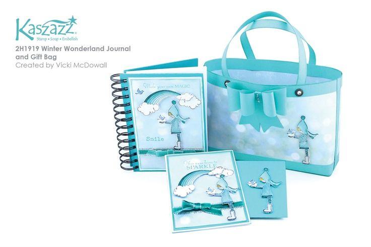 2H1919 Winter Wonderland Journal and Gift Bag