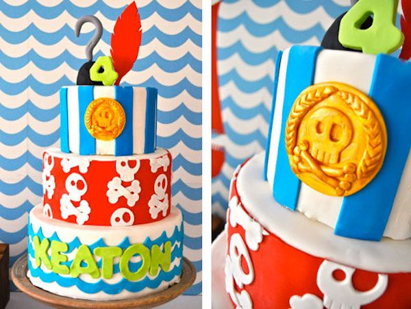 Tarta de cumpleaños jake y los piratas