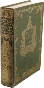 """Prvo izdanje knjige o Peteru Panu - """"Peter and Wendy' koje je izašlo 1911. Petra je izmislio slavni Škot Sir J.M. Barrie a vrijednost djela prepoznali su izdavači Hodder & Stoughton."""