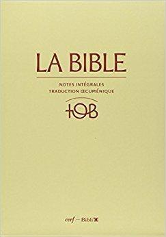 bible tob gratuitement