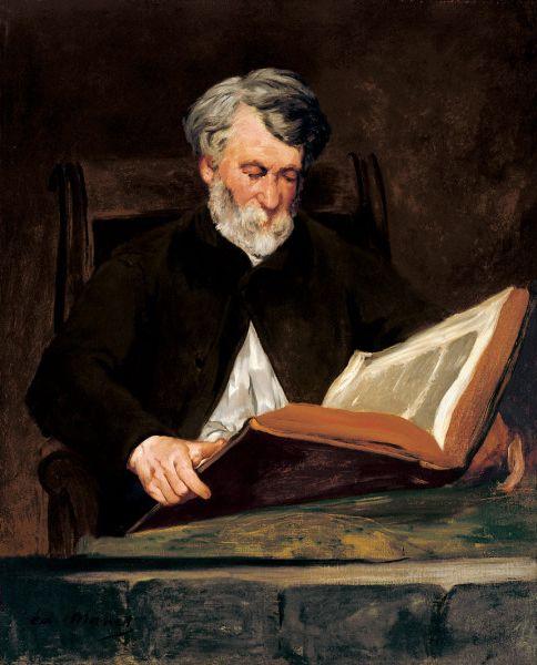 Eduard Manet | Edouard Manet - The Reader