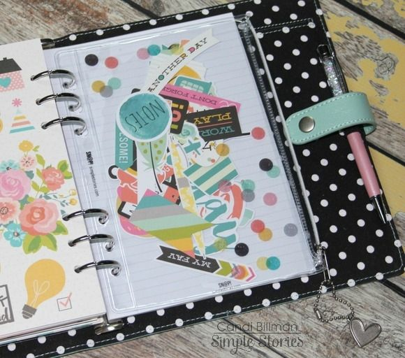 Design team member Candi Billman shares how she's set up & started planning in her robin's egg Carpe Diem planner!