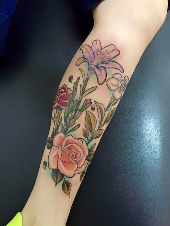 Pretty Flower Tattoos: 14 Best Beautiful Flowers For Tattoos Images On Pinterest