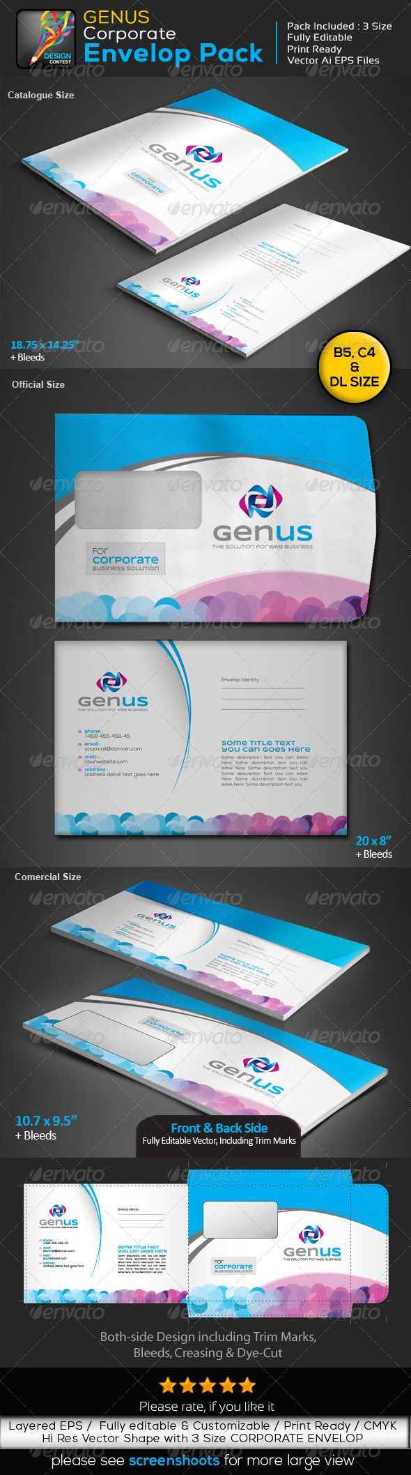 flyer card size