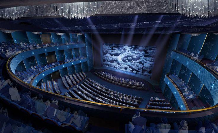 In Progress Wuzhen Theater / Artech Architetcs: Giant Electric, Performing Art, Cinema Screens, Artech Architetc, Media Rooms, Art Center, Architectural Details, Electric Cinema, Architecture Details