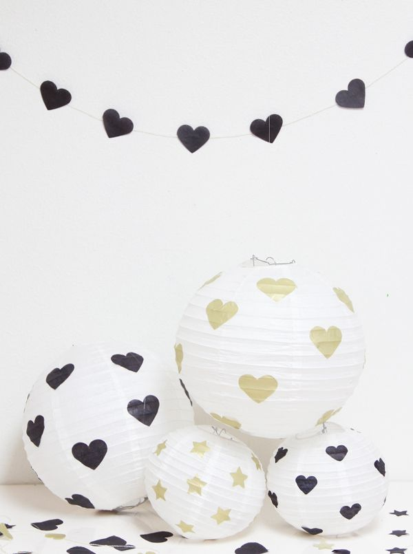 DIY Hearts and Stars Lanterns ♥